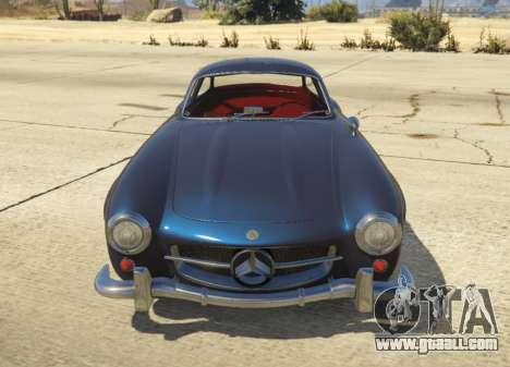 GTA 5 1954 Mercedes-Benz 300 SL Gullwing 1.0 left side view