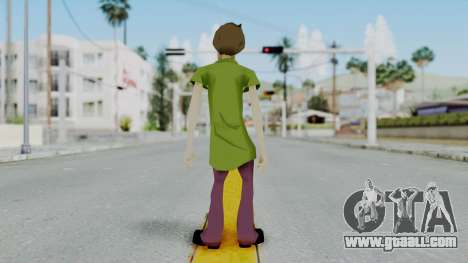 Scooby Doo Salcisha-Shaggy for GTA San Andreas third screenshot