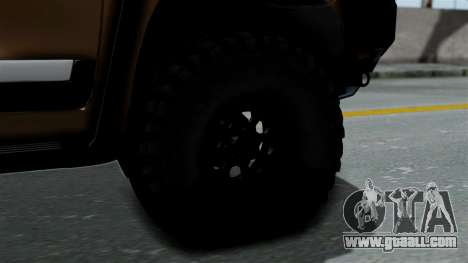 Toyota Land Cruiser 2013 Off-Road for GTA San Andreas back left view