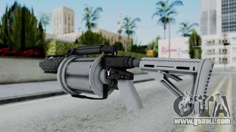 GTA 5 Grenade Launcher - Misterix 4 Weapons for GTA San Andreas second screenshot