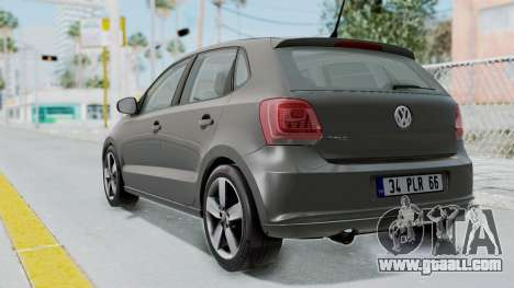 Volkswagen Polo 6R 1.4 HQLM for GTA San Andreas left view