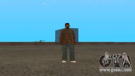 Skin FAM3 for GTA San Andreas third screenshot