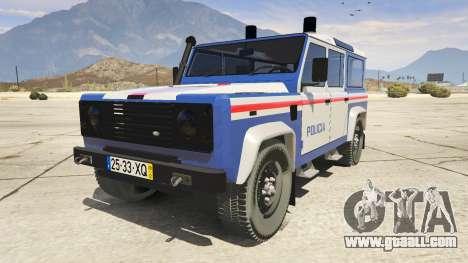 Land Rover Defender for GTA 5