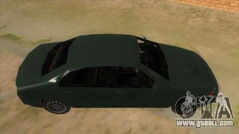 GTA LCS KURUMA for GTA San Andreas inner view
