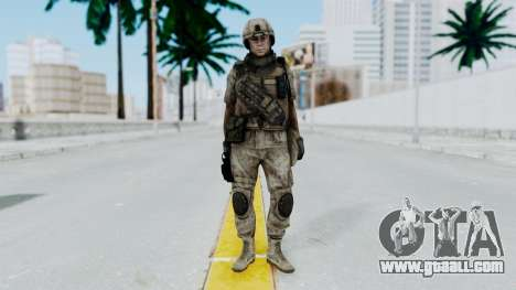 Crysis 2 US Soldier 3 Bodygroup B for GTA San Andreas second screenshot