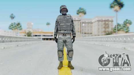 Acu Soldier Balaclava v2 for GTA San Andreas second screenshot