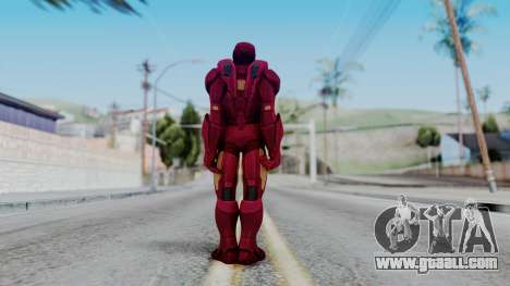 Ironman Skin for GTA San Andreas third screenshot