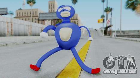 Sanic Hegehog for GTA San Andreas second screenshot