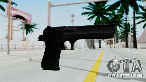 Pouxs Desert Eagle v2 Black for GTA San Andreas