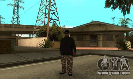 BALLAS3 for GTA San Andreas