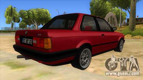 BMW M3 E30 1991 for GTA San Andreas right view