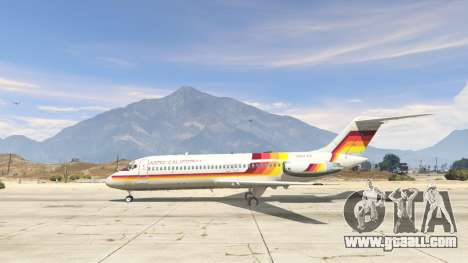 GTA 5 McDonnell Douglas DC-9-15 second screenshot