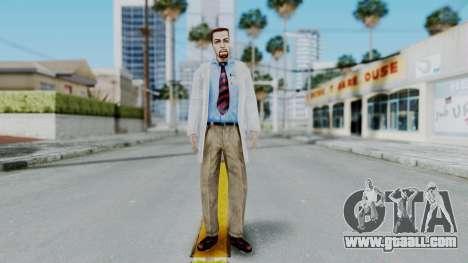 Gordon Freeman Scientist From HL Blue Shift for GTA San Andreas second screenshot