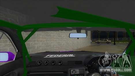 Nissan Skyline GT-R 32 for GTA San Andreas inner view
