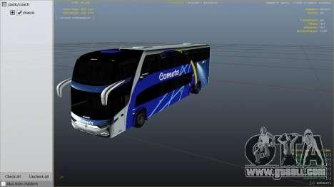 Marcopolo Paradiso 1800 for GTA 5