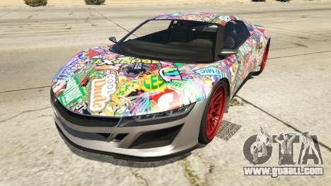 Stickerbomb Jester for GTA 5