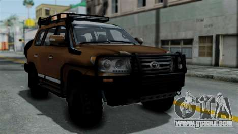 Toyota Land Cruiser 2013 Off-Road for GTA San Andreas
