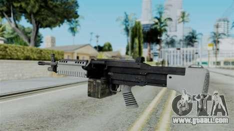 GTA 5 Combat MG - Misterix 4 Weapons for GTA San Andreas second screenshot