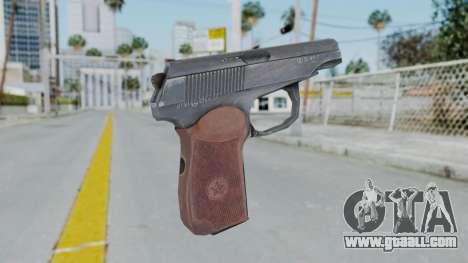 Arma2 Makarov for GTA San Andreas second screenshot