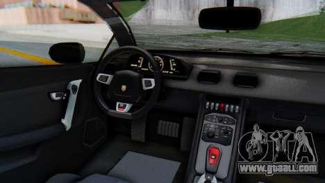 GTA 5 Pegassi Vacca SA Style for GTA San Andreas back view