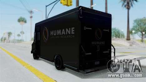 Brute Boxville Laboratorios Humane for GTA San Andreas left view