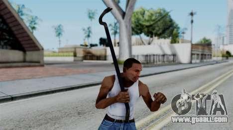 No More Room in Hell - Crowbar for GTA San Andreas third screenshot