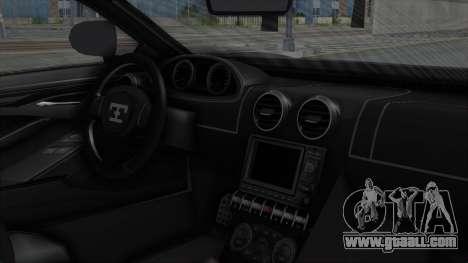 GTA 5 Truffade Adder v2 SA Lights for GTA San Andreas right view