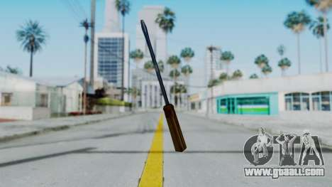Vice City Screwdriver for GTA San Andreas