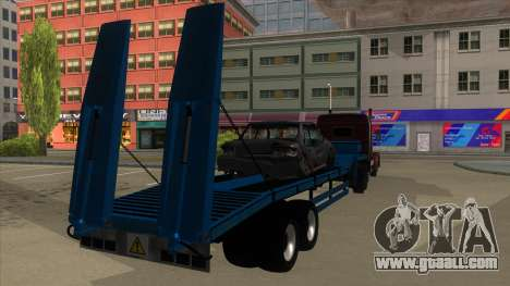 Trailer with Hydaulic Ramps for GTA San Andreas right view