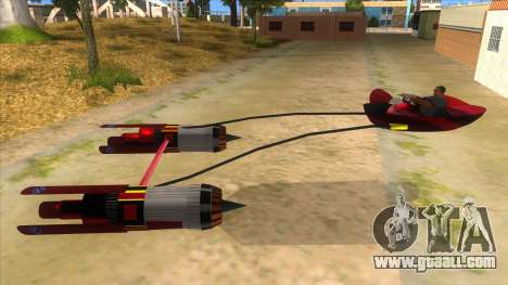 StarWars Anakin Podracer for GTA San Andreas left view