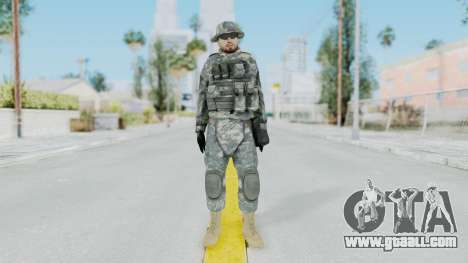 Acu Soldier 7 for GTA San Andreas second screenshot
