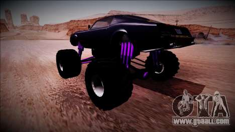 GTA 5 Imponte Phoenix Monster Truck for GTA San Andreas left view