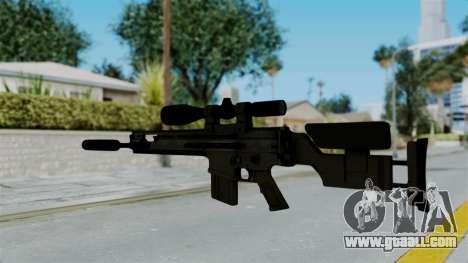 SCAR-20 v2 Supressor for GTA San Andreas second screenshot
