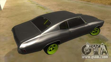 1970 Chevrolet Chevelle SS Drift Monster Energy for GTA San Andreas right view