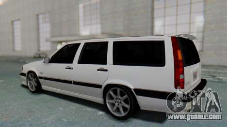 Volvo 850R 1997 Tunable for GTA San Andreas back left view