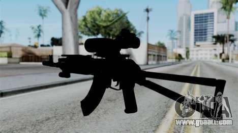 AK-103 OGA for GTA San Andreas second screenshot