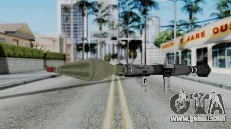 GTA 5 RPG - Misterix 4 Weapons for GTA San Andreas second screenshot