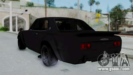 Nissan Skyline 2000GTR Speedhunters Edition for GTA San Andreas left view