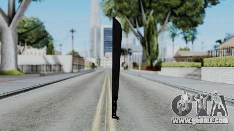 No More Room in Hell - Machete for GTA San Andreas third screenshot