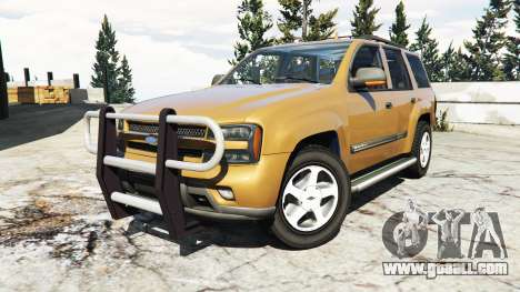 GTA 5 Chevrolet TrailBlazer right side view