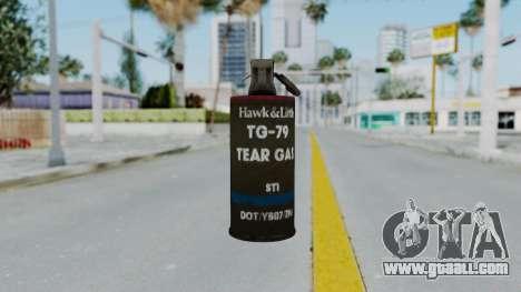GTA 5 Tear Gas for GTA San Andreas third screenshot