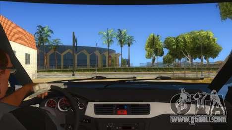 Mitsubishi Pajero Sport Dakar 2015 for GTA San Andreas inner view