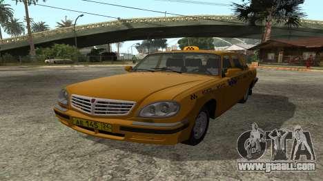 GAZ 31105 Volga Taxi IVF for GTA San Andreas