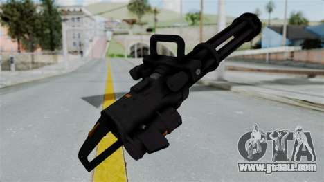 GTA 5 Minigun for GTA San Andreas third screenshot