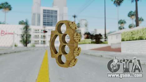 The Hater Knuckle Dusters from Ill GG Part 2 for GTA San Andreas