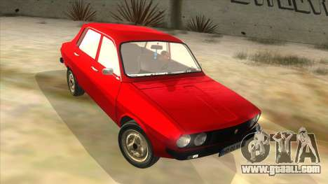 Dacia 1310 for GTA San Andreas back view