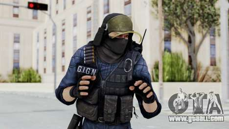 GIGN 2 Masked from CSO2 for GTA San Andreas