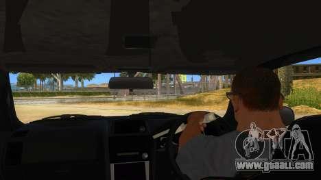Nissan Skyline GT-R R34 Hatsune Miku for GTA San Andreas inner view