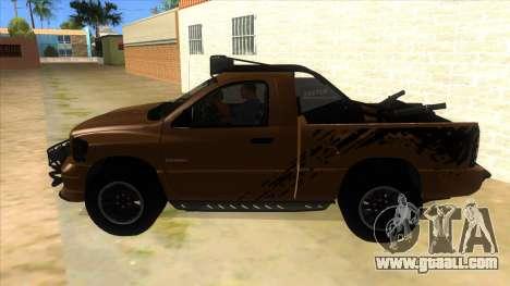 Dodge Ram SRT DES 2012 for GTA San Andreas left view