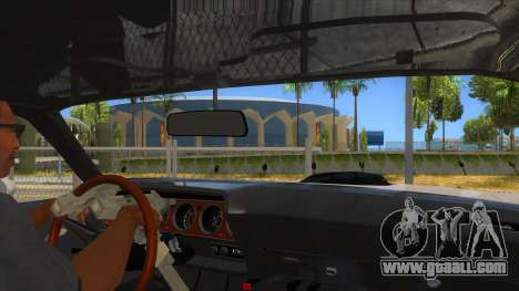 1971 Plymouth Hemi Cuda Monster Truck for GTA San Andreas inner view